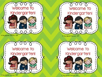 """Welcome Back"" Tags!"