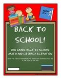 Back To School Activities 2nd Grade