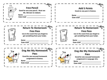 Welcome Back To School Coupon Booklet For Students