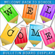 Back To School / Editable Grade 2 Welcome Banner / Colorful Display!