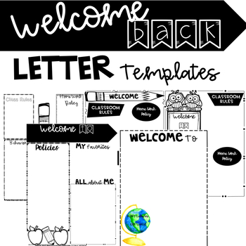 Welcome back to school letter templates by teaching with sugar and welcome back to school letter templates thecheapjerseys Gallery