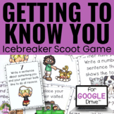 Back to School Icebreaker - Getting to Know You Game - Dis