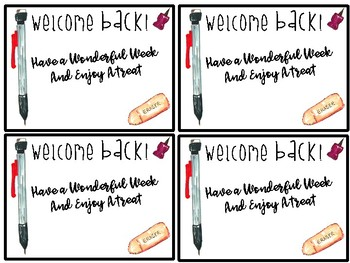 Welcome Back To School Sign
