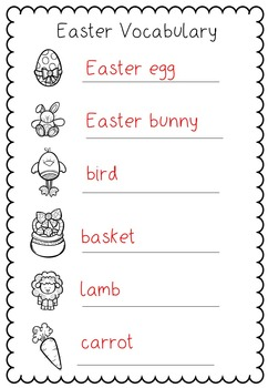 Welcome Back from Easter Break Activities