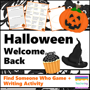 Welcome Back from Halloween {No Prep ELA Activities}