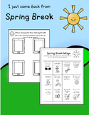 Welcome Back from Spring Break!