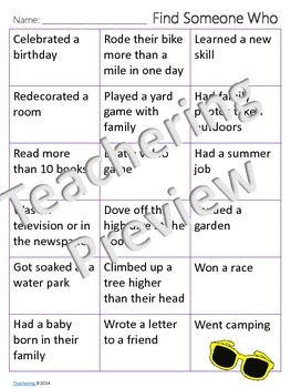 Welcome Back from Summer Break Compare/Contrast Writing {No Prep ELA Activities}