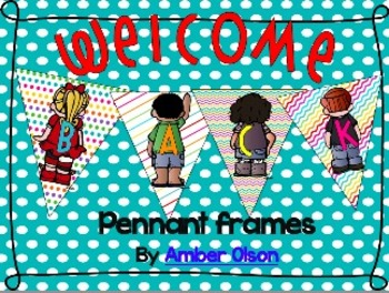 "Welcome ""Back""! pennant"