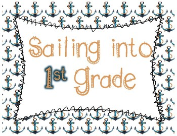 Back to School Signs (Grades PreK-6th)- beach theme
