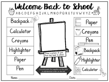 Welcome Back to School 2016-2017