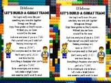 Welcome Back to School Bags: Lego Like Theme!