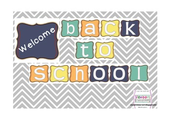 Welcome Back to School Banner Freebie