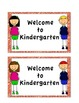 Welcome Back to School Cards