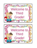 Welcome Back to School Editable Postcards