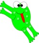 Welcome Back to School First Day Frog Glyph