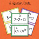 Welcome Back to School Math Scoot: Grade 1