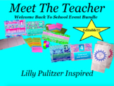 Welcome Back to School Meet the Teacher Night Lilly Pulitz