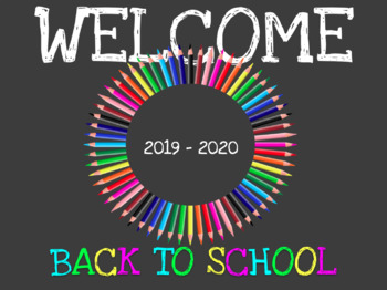 Welcome Back to School, Open House