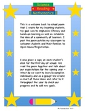 """Welcome"" Back to School Poem and ""Hooray"" End of Year Poem"