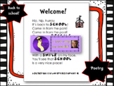 Welcome Back to School Poem or Letter, Poetry, Seuss