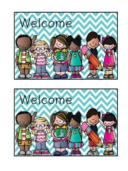 Welcome Back to School Post Cards