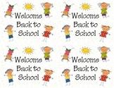 Welcome Back to School Postcards (printable)