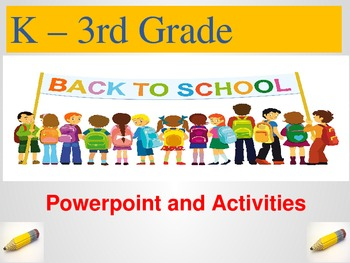 Back to School Powerpoint and Materials