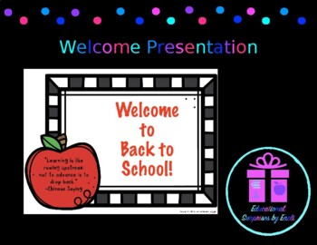 welcome back to school powerpoints