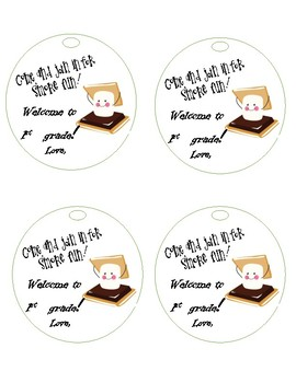 Welcome Back to School Tags
