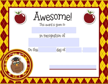 Welcome Back to School Teacher Printables