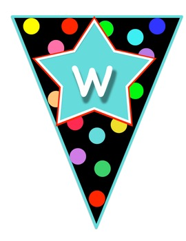 Welcome Banner - Polka Dot Theme