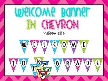 Welcome Banner - Chevron