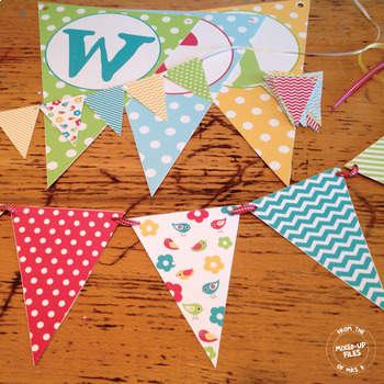 Bloomin' Cute Welcome Banner