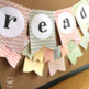 Shabby Class Welcome Banner