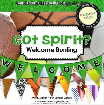 Sports Theme Welcome Banner