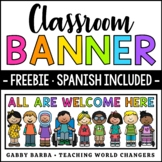 All Are Welcome Banner