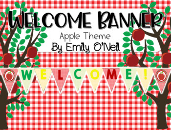 Welcome Banner (Apple Theme)