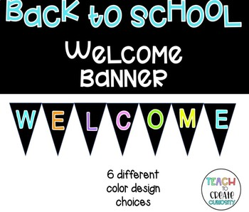 Welcome Banner *Back to School*