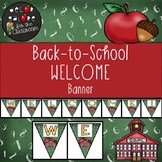 Welcome Banner / Bunting - Back-to-School Decor