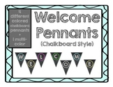 Welcome Banner: Chalk Edition