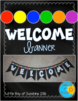 Welcome Banner - Chalkboard