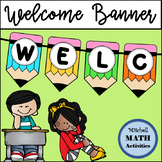 Welcome Banner (Colorful Pencils)