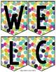 Welcome Banner - Confetti