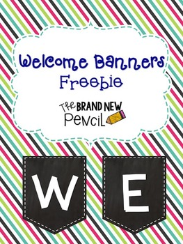 Welcome Banner || Freebie