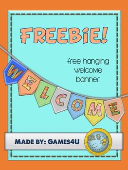 Welcome Banner Freebie