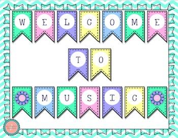 Welcome Banner {Garden of Music}