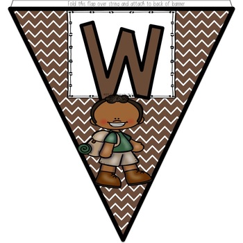 Welcome Banner - Happy Campers Decor
