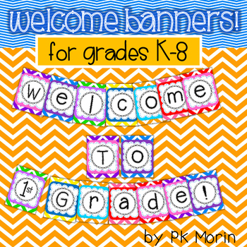 Welcome Banner - K-8