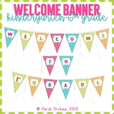Welcome Banner: Kindergarten-6th Grade