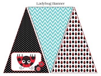 welcome banner ladybug theme classroom decoration by scrapnteach